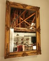 Late Empire Gilt Mirror