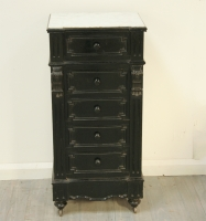 Napoleon III Ebonised Bathroom Cabinet