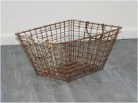 French shellfish gathering basket