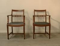 Pair Of Georgian Style Armchairs