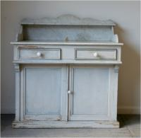 A Provençale Painted and Marble Washstand