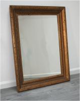 neoclassical gilt mirror